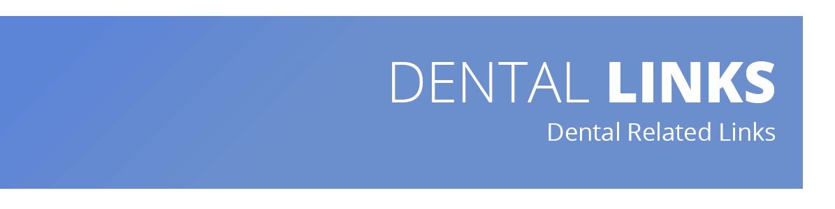 Images describes that there are helpful dental links listed on the page