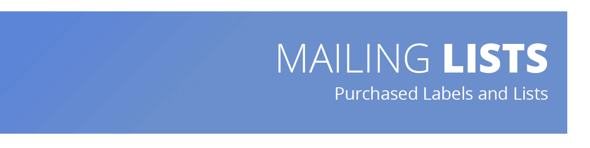 Member Mailing Lists - Metro Denver Dental Society