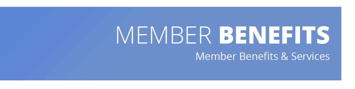 Image describes that this web page lists the member benefits and services offered by the Metro Denver Dental Society.