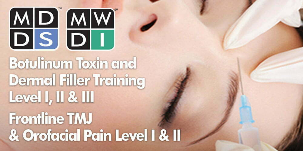 MDDS Botox Course Info
