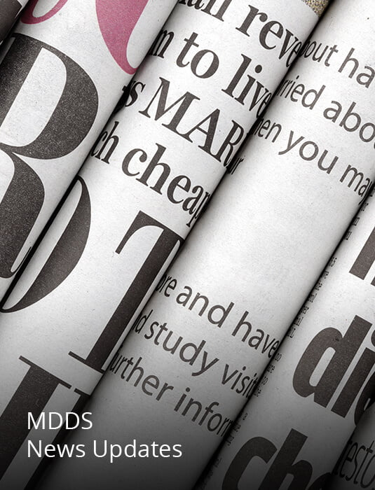 Image Links to MDDS News Updates