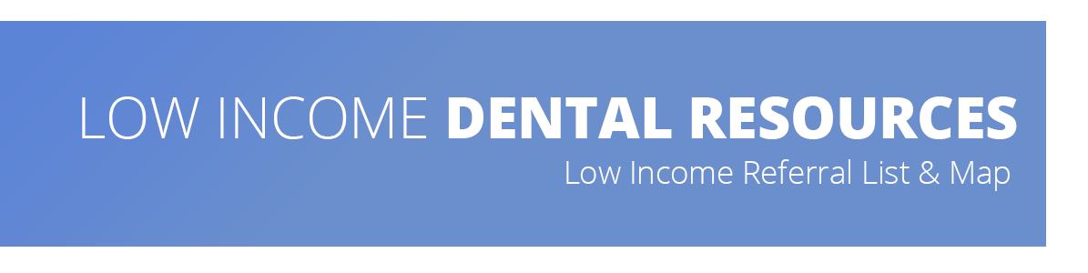 Image describes that the webpage contains MDDS's information on how to access low income dental resources