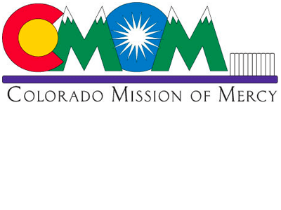 Colorado Mission of Mercy (COMOM) logo