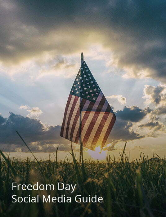 Image links to Freedom Day USA social media tips