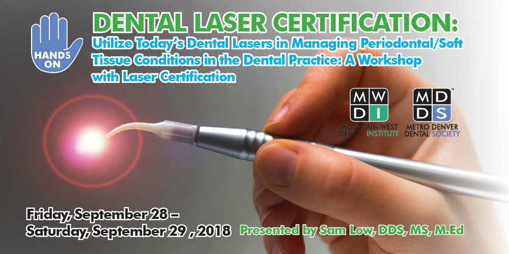 Mdds Presents Laser Certification Course