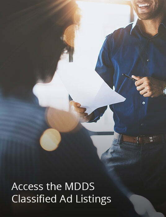 Image Links to MDDS Career Center