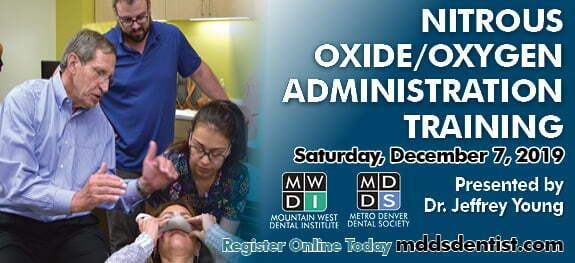 Nitrous oxide oxygen administration training
