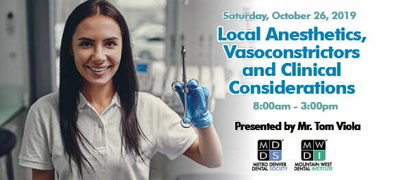 local anesthetics, vasoconstrictors and clinical consideration