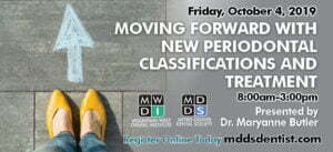 moving forward with new periodontal classifications and treatment