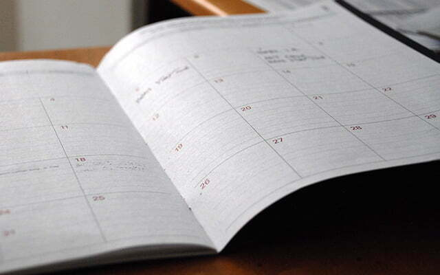 The Most Important Reason to Keep Your Schedule Running Smoothly