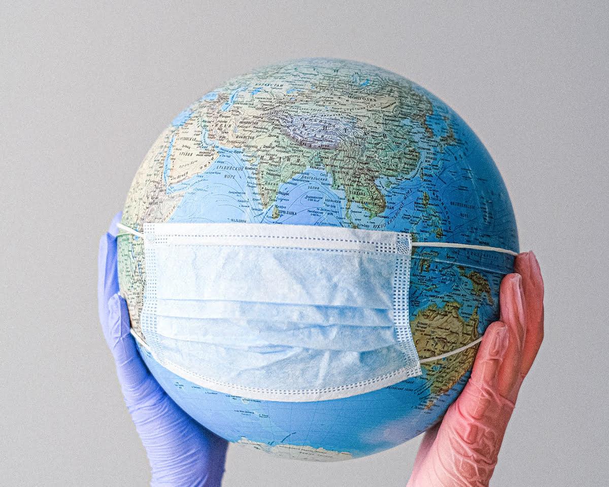 masked globe