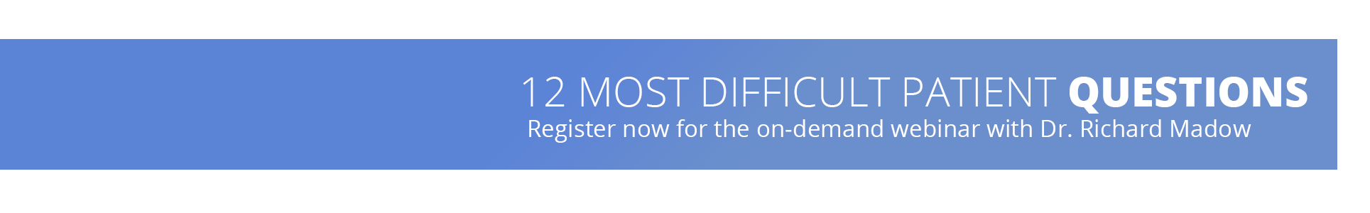 12 most difficult questions on demand webinar